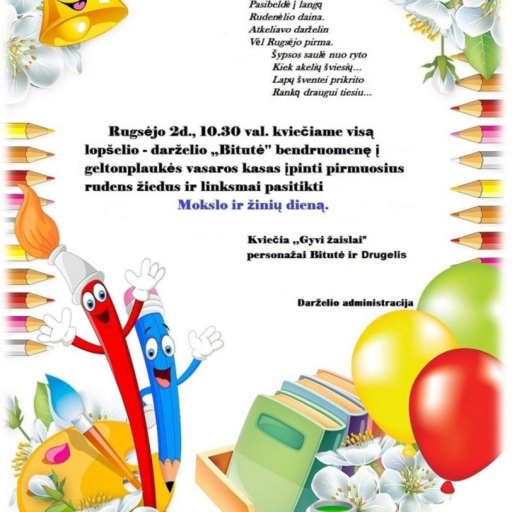 Mokslo ir žinių diena