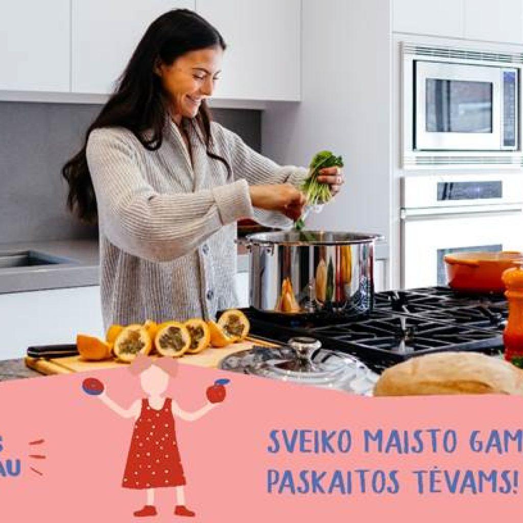 Sveiko maisto gaminimo paskaita